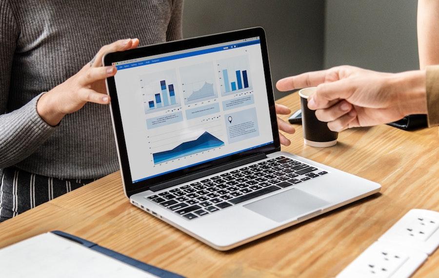 Analysedashboard Beispiel