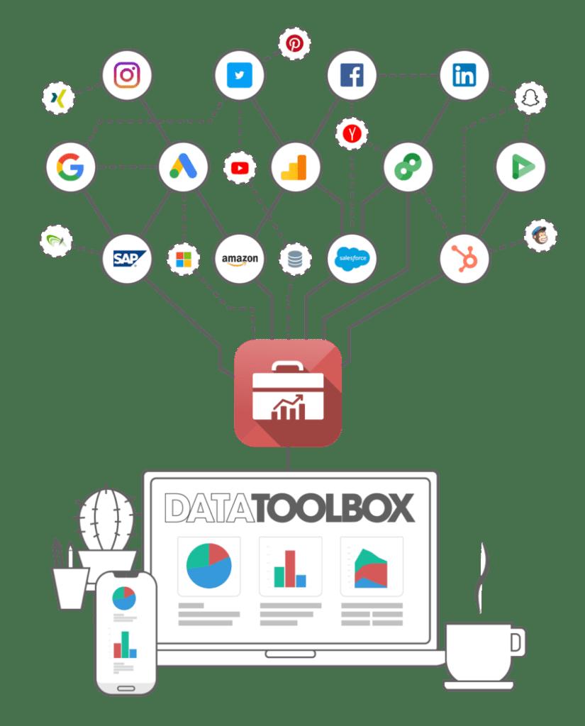 Datatoolbox Architektur Illustration